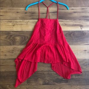 Tops - Nectar Clothing Racerback Red Cami
